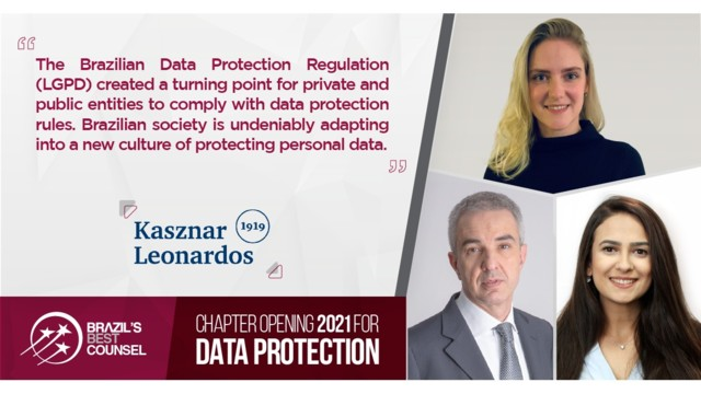 Brazil's Best Counsel 2021 - Chapter Opening: Data Protection