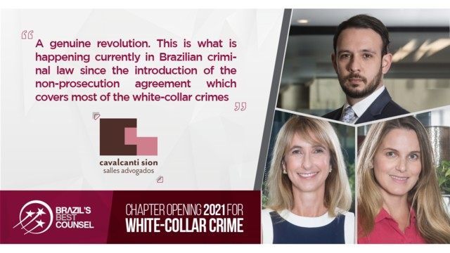 Brazil's Best Counsel 2021 - Chapter Opening: White-Collar Crime