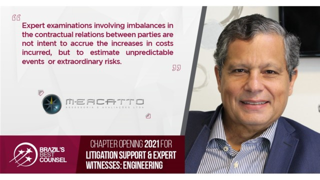 Brazil's Best Counsel 2021 - Chapter Opening:  Litigation Support & Expert Witnesses: Engineering