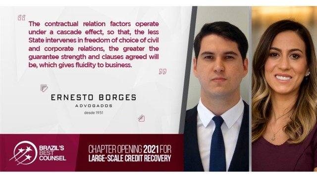 Brazil's Best Counsel 2021 -Chapter Opening: Large-Scale Credit Recovery