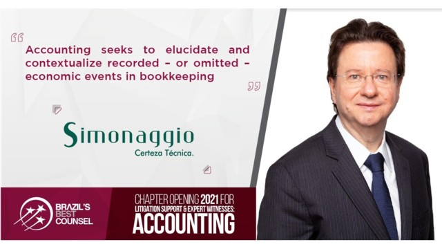 Brazil's Best Counsel 2021 -Chapter Opening: Litigation Support & Expert Witnesses: Accounting