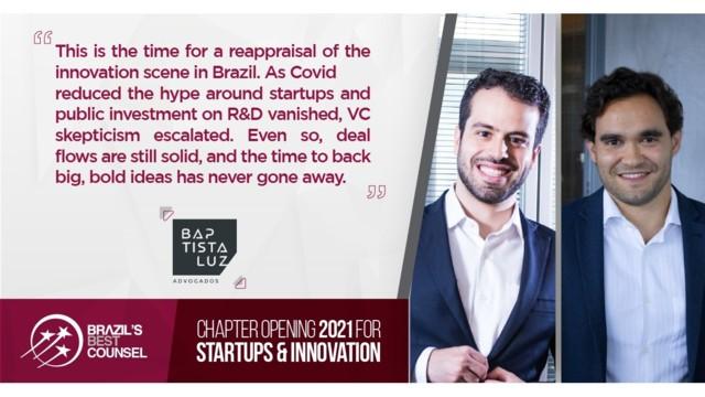 Brazil's Best Counsel 2021 - Chapter Opening: Startups & Innovation