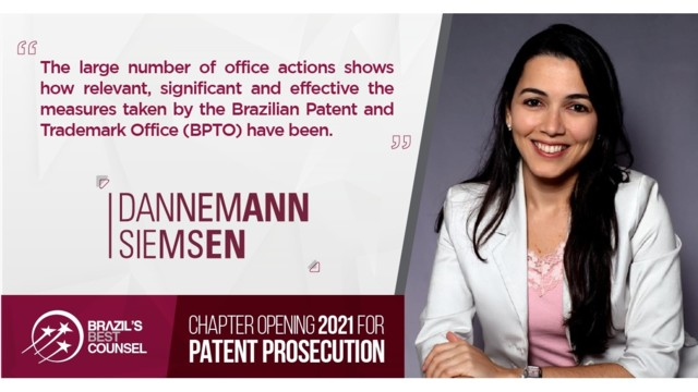 Brazil's Best Counsel 2021 - Chapter Opening: Patent Prosecution