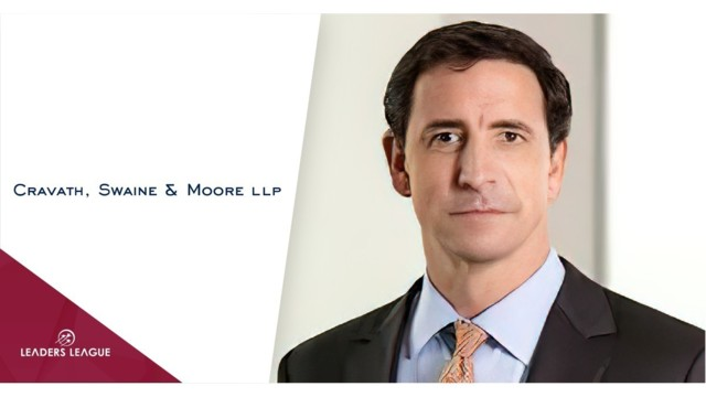 An American law firm in London: Cravath, Swaine & Moore explains its positioning