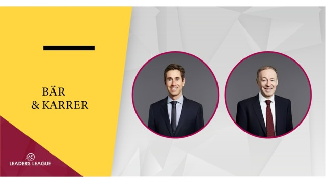 Top Swiss law firm Bär & Karrer: A perfect blend of new technology and regulatory expertise