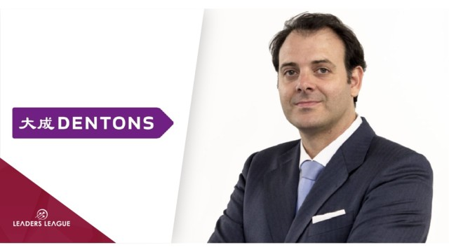 Jabier Badiola, managing partner, Dentons Spain: 'The banking sector is increasingly sensitive to environmental issues'