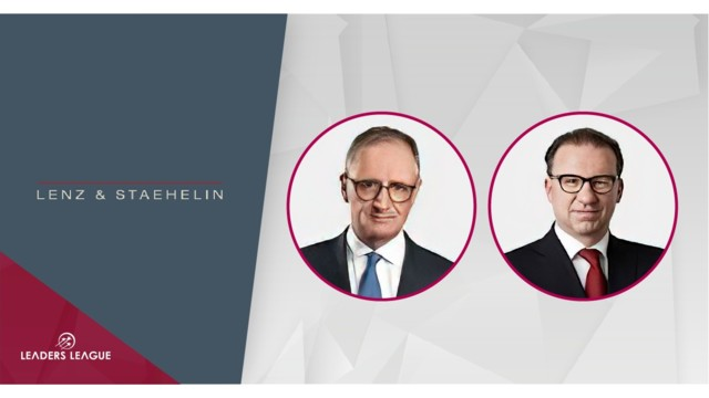 Full-service law firm Lenz & Staehelin: Pragmatic, high-quality work at the height of the pandemic