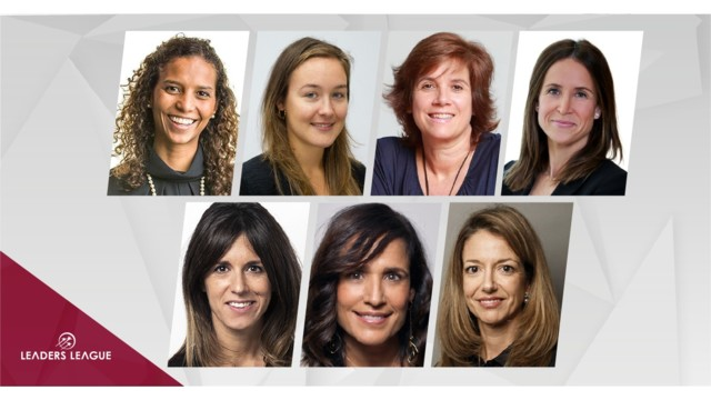 Who are the most prominent women in private equity funds in Spain?