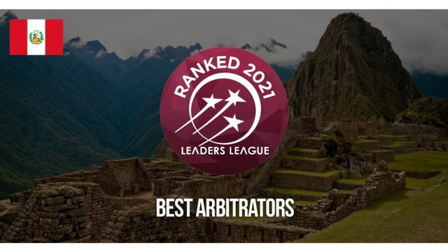 Peru Best Arbitrators 2021