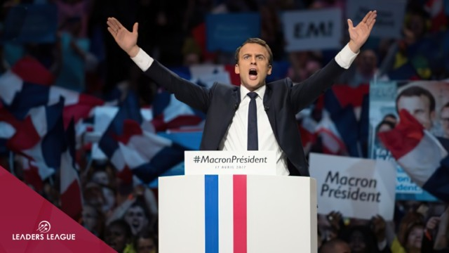 Emmanuel Macron and the blue ocean strategy
