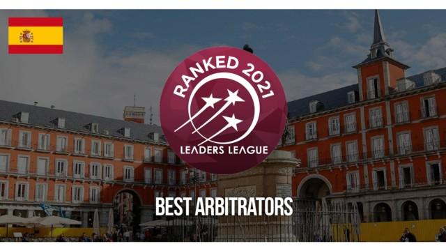 2021 Spain Best Arbitrators