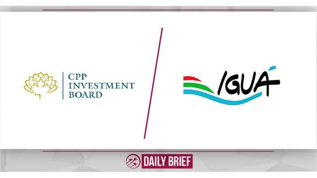 Canadian Pension Fund Acquires Stake in Iguá Saneamento