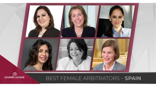 Best Female Arbitrators in Spain
