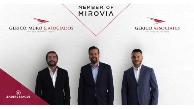 Gericó Associates joins Mirovia