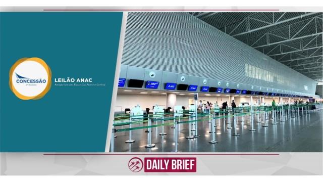 Brazilian Government raises R$ 3.3 billion in airports concession auction
