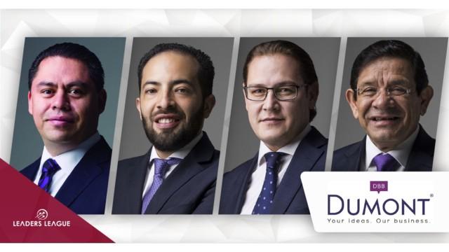 Mexico's Dumont promotes four partners