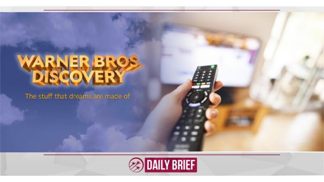 Warner Bros. and Discovery announce new streaming joint venture
