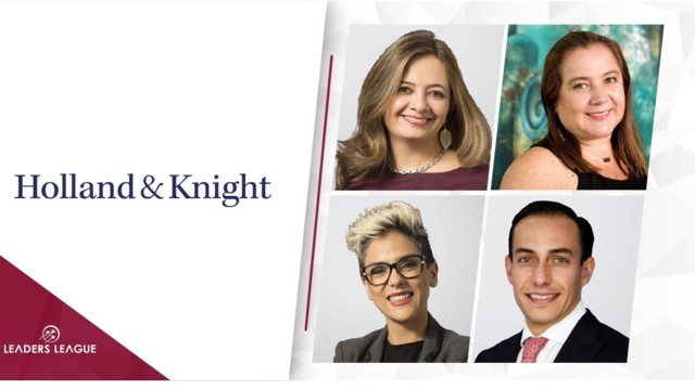 Holland & Knight has named four new partners