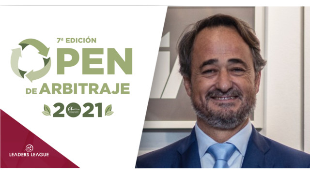 Javier Íscar discusses greener arbitration, the theme behind this year's Open.