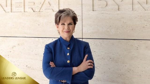 Top 100 Executives 2021 – Phebe Novakovic (CEO) General Dynamics