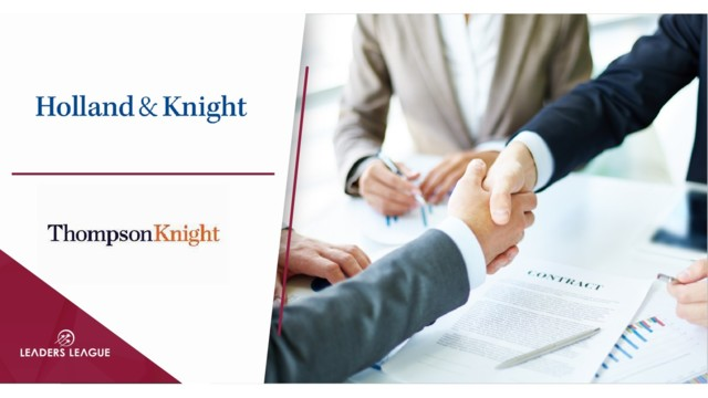 Holland & Knight and Thompson & Knight complete merger