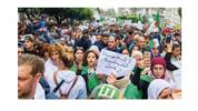 After Weeks of Protests, Regime Change in Algeria