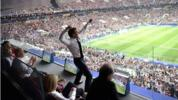Supporter in Chief: When the French president basks in the glory of the beautiful game