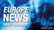 Daily Briefing: Merkel wants EU recovery plan agreement, Europe less likely to see US as global leader, Euro zone business slump eases