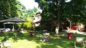 Terrasses boisées pour menus d'été
