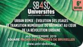 Édition des Universités d'été Smart Buildings for Smart Cities