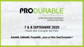 Produrable 2020 aura lieu les 7 et 8 septembre