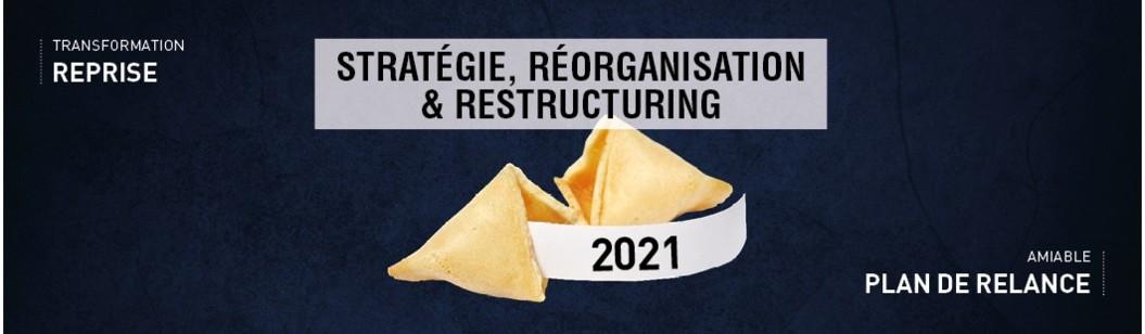 Retrouvez notre dossier issu du guide-annuaire Stratégie, réorganisation & restructuring 2020