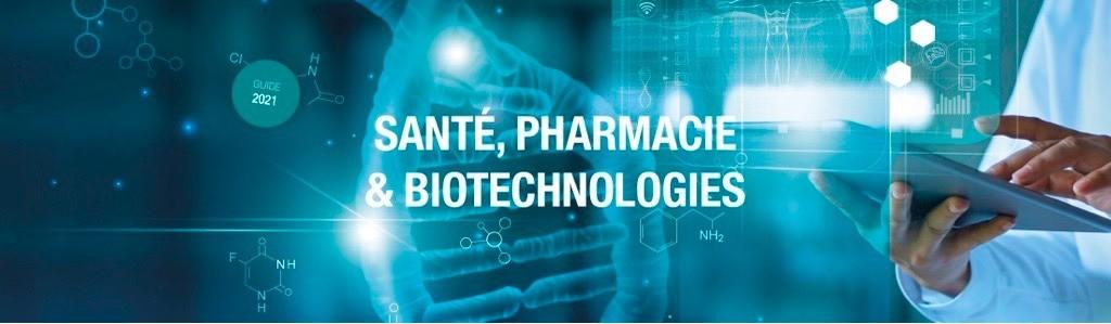 Retrouvez notre dossier issu du guide-annuaire Santé, pharmacie et biotechnologies 2021.